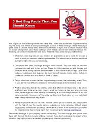 Home Remedies For Getting Rid Of Bed Bugs 5 Bed Bug Facts That You Should Know