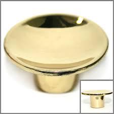 gold brass cabinet hardware round gold polished brass cabinet knobs drawer pull hardware 1 5