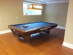how to refelt a pool table video you can never go wrong with a brunswick gold crown pool table