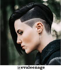exceptional taper haircut with long hair 4 ruby rose haircut