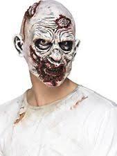 zombie full overhead mask foam latex halloween horror mens fancy