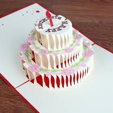 big birthday cards 2017 new design happy birthday greeting card big birthday cake shape