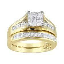 gold wedding rings sets bridal ring sets kohl s