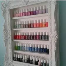 how to build your own nail polish rack diy furniture