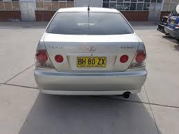 lexus for sale nsw 7 2003 lexus is200 gxe10r 4d sedan silver 2 0l allbids