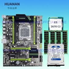 disque dur de bureau bâtiment idéal pc huanan x79 carte mère cpu ram hdd combos xeon e5