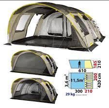 toile de tente 4 places 2 chambres location toile de tente 6 2xl quechua à chdôtre par yoann