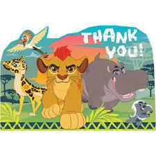 thank you lion king greeting cards u0026 invitations ebay