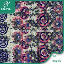 Lace Fabric For Curtains Factory Direct Sale African Lace Fabrics For Garment With Chemical
