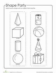 3d geometric shapes worksheet education com