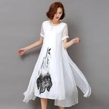 online get cheap white linen women clothing aliexpress com