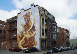 all murals artworks cincinnati the golden muse