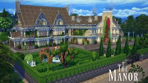 the manor the sims 4 speed build in 4k youtube the manor the sims 4 speed build in 4k