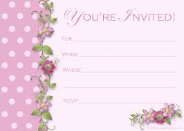 Invitation Card Templates Free For Word Free Party Invitation Template Party Invitation Templates Word
