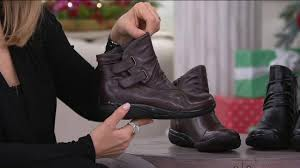 clarks womens boots qvc clarks waterproof leather ankle boots kearns burst on qvc