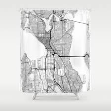 Curtains Seattle Seattle Shower Curtains Society6