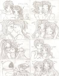 wordeahibur anime couples in love drawings