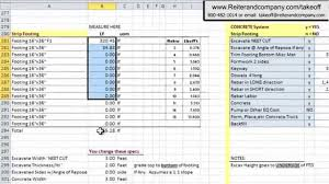 Free Download Spreadsheet Excel Spreadsheet For Construction Estimating Templates