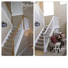 Pictures Of Banisters How To Update A Banister U2013 For Less Than 50 U2013 Marlowe Lane