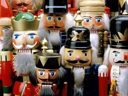 christmas nutcrackers the personalities with each one just a bit different