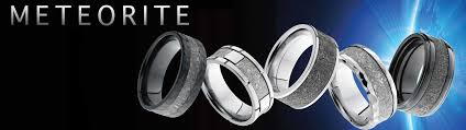 the wedding band meteorite wedding rings joe escobar diamonds