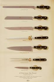 Used Kitchen Knives Berti Knives Traditional Models Like The Knife Used For The Steak