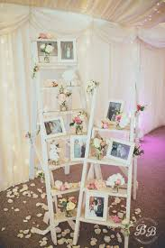 wedding decorations on a budget decorating diy wedding ladder display ideas 25 cheap and simple