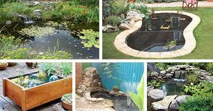 20 beautiful diy garden pond ideas u2013 page 2 u2013 crafts u0026 diy