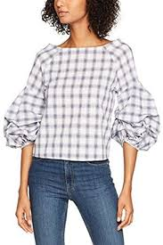 shell blouse look gingham check s shirts blouses compare prices