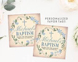 personalized baptism favors boy baptism favors etsy