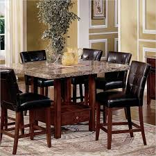 Ebay Furniture Dining Room 5 Piece Kitchen Dining Set Square Marble Top Counter Height Table