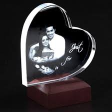 Personalized Paper Weight Gifts 3d Heart Shaped Archives Petra Gifts Personalized Gifts