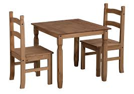 2 chair kitchen table set mercers furniture corona rio dining table and 2 chairs pine