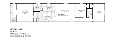 Mobile Home Floor Plans Single Wide Oak Creek Single Wides Manufactured Homes Modular Mobile Homes