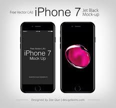 free vector apple iphone 7 mockup in ai u0026 eps format
