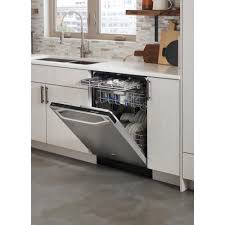 Stainless Steel Lg Dishwasher Lg Studio Stainless Steel Fully Integrated Dishwasher With Top