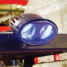 blue warning lights on forklifts led forklift pedestrian safety warning spotlight