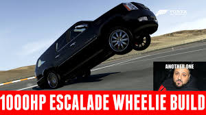 build a cadillac escalade forza 6 wheelie build 1000hp cadillac escalade