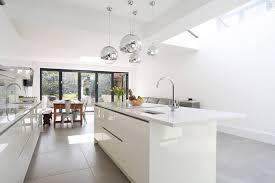 white kitchen island breakfast bar white gloss lacquer kitchen island