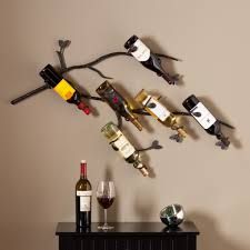 furniture unique wine wall rack wine rack hanging on wall wine