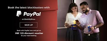 bookmyshow paypal offer book your ticket with paypal and get rs