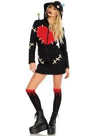 Voodoo Doll Costume Halloween Leg Avenue 86669 Cozy Voodoo Doll Costume Halloween Costumes