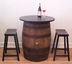 Wine Bar Table Barrels And More Wine Tasting And Checker Table Barrels