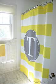 Yellow Paisley Shower Curtain by Best 25 Monogram Shower Curtains Ideas On Pinterest Monogrammed