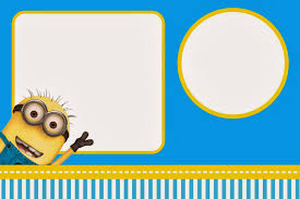 Baptismal Invitation Card Maker Free Download Despicable Me Invitations And Party Free Printables Is It For