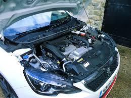 peugeot 308 gti blue peugeot 308 gti 2017 long term test review by car magazine