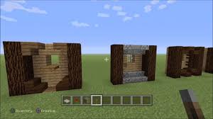 5 exterior wall designs for minecraft builds youtube