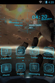 themes for android phones space android themes androidlooks com