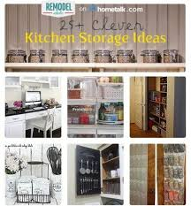 unique kitchen storage ideas clever kitchen storage ideas