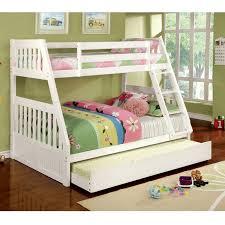 Hokku Designs Caitlyn Twin Over Full Bunk Bed  Reviews Wayfair - Full bunk bed